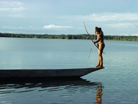 claire-leimbach-indian-fishing-with-bow-and-arrow-xingu-amazon-region-brazil-south-america