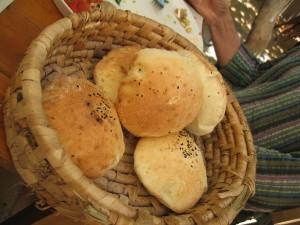 fresh pita, food of the gods