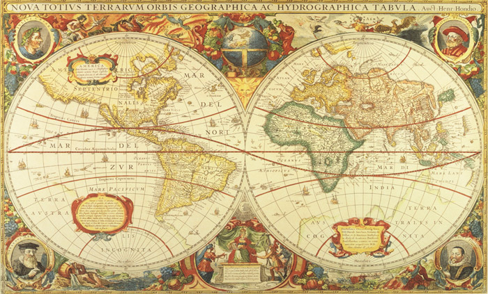 antique-world-map-mural