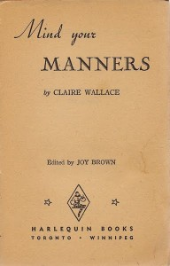 mind your manners title page